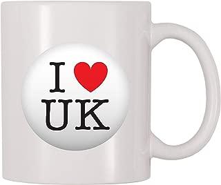 4 All Times I Love The UK United Kingdom Coffee Mug (11 oz)