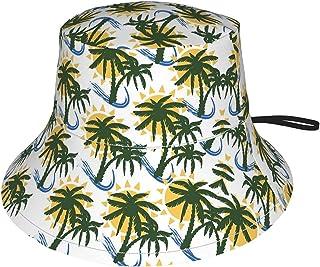 Lsjuee - Cappello da sole con palma di cocco, per bambini, traspirante, estivo, colore: Nero