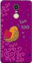 جراب جراب بغطاء لجراب ColorKing Xiaomi Redmi Note 5 - Bird Kookoo متعدد الألوان