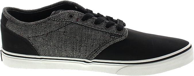 VANS ATWOOD DELUXE XB2K6W homme noir chaussures en tissu gris ...