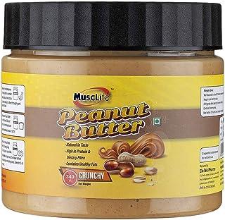 Musclife Crunchy Peanut Butter (Crunchy 340gm)