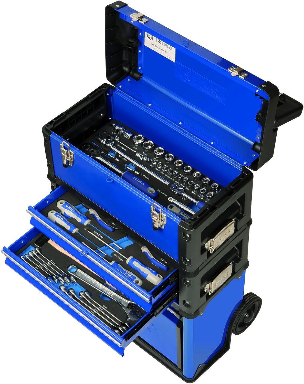 IRIMO almacenam. HERRAM.–Wagen Halterung 520x 720x 320mit Box stapelbar