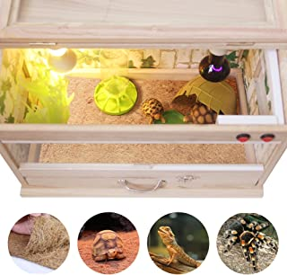 AUOON Reptile Substrate Liner,Terrarium Bedding or Cage Carpet for Tortoise Lizard