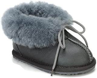 CooL BeanS Sheepskin Children's Slippers Warm Fur Winter Boots (Boys, Girls: Baby/Toddler/Little Kids)