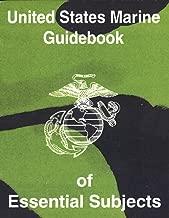 MILITARIA United States Marine Guidebook of Essential Subjects