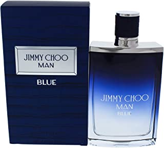 Jimmy Choo Man Blue Eau De Toilette Spray, 3.3 Ounce