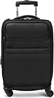 Black The Latest Style 20 Inches Soft Case HUIJUNWENTI Carry Suitcase Simple Rotating Suitcase Simple and Color : Gray, Size : 22
