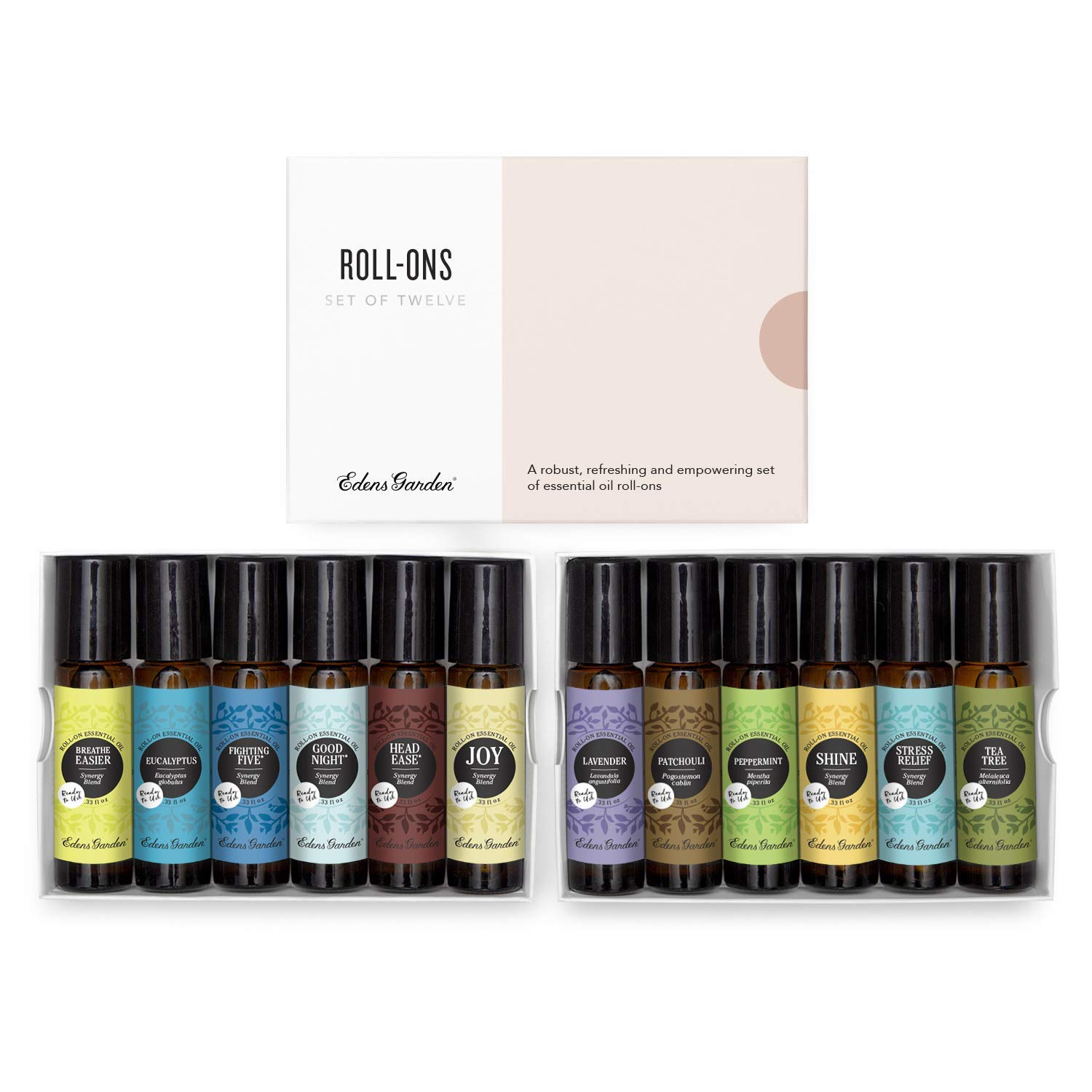 Edens Garden Roll-On Essential Oil Pure Set Therapeutic 100% 12 Ranking TOP7 Ranking TOP3