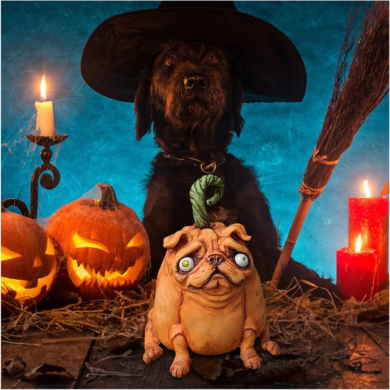 Zombie Pumpkin Pugkin Bulldogs Sales for sale Halloween Beauty products Statues Garden