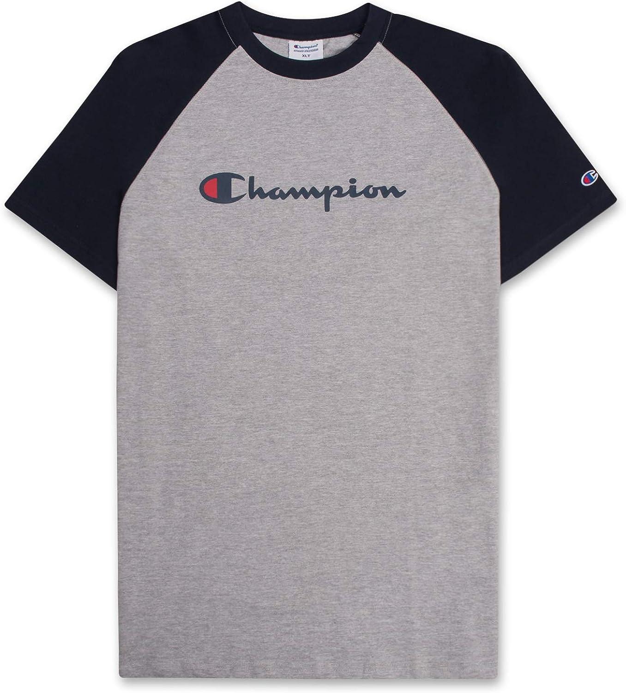 Champion Mens Big & Tall Cotton Raglan Shirt for Men