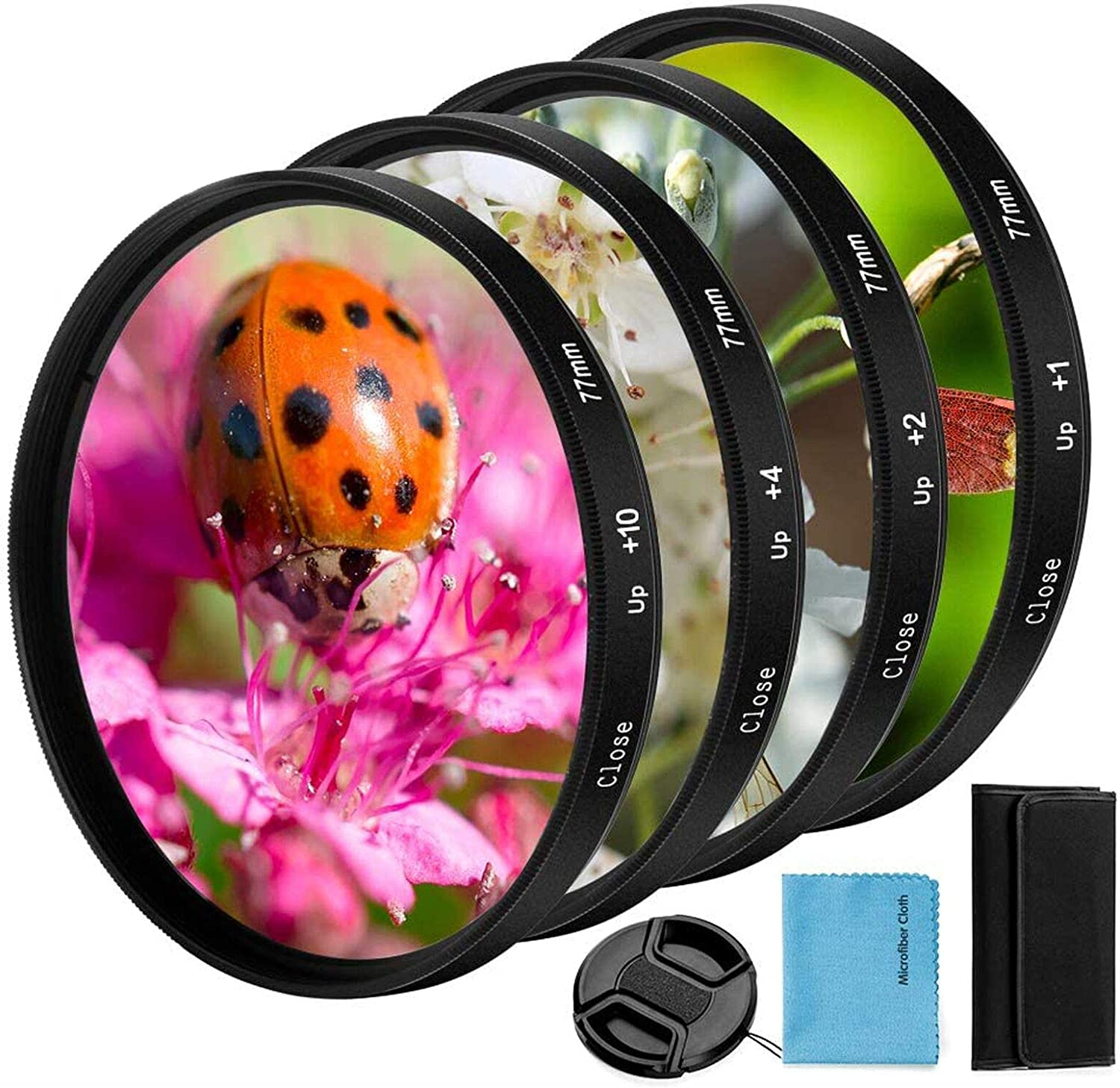 67mm Close-up Filter Kit 4 Pieces Macro Easy-to-use +2 +1 Sales for sale Acc +10