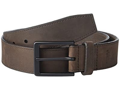 Shinola Detroit 1 1/2 Utility Belt (Dark Brown) Men
