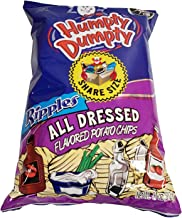 Humpty Dumpty Potato Chips, 11 Ounce, 4 Count, New Larger Family Size Bags (All Dressed)