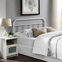 Best white and gold metal headboard Reviews