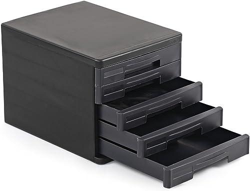 Cello Idea Storage Cabinet (Black)