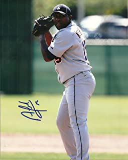ANGEL NESBITT DETROIT TIGERS SIGNED AUTO 8x10 PHOTO W/COA