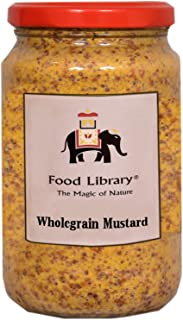 Food Library The Magic Of Nature Wholegrain Mustard 350gms