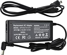 ROCKETY 14V Monitor Power Cord Replacement for Samsung Power Supply Syncmaster Led S27D360H S27D390H S24D390HL S22C300H S23C350H S24B150BL S27C230 S27D590P S22E310H S27E310H UE590 T24C550ND DC Adapter