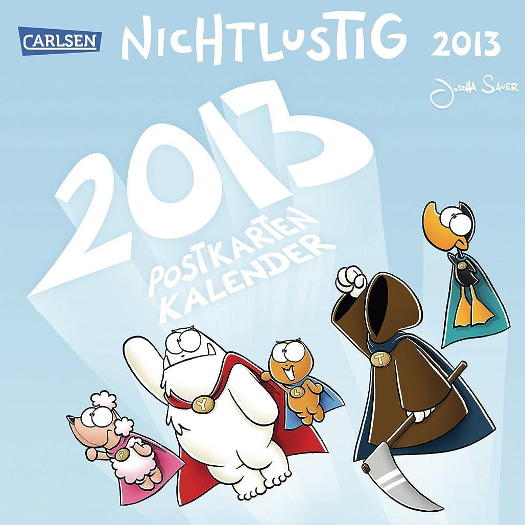 美徳行動行動Nichtlustig Postkartenwochenkalender 2013
