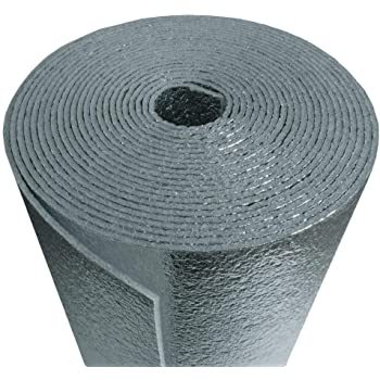 Supershield Multipurpose BP48010 48-Inch by 10-Feet Roll Reflective Foam Core (Not Cheap Bubble) DIY Insulation Weatherization Water Proof/Meets Fire Codes/Made in USA
