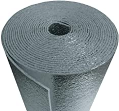 AES 1000 sqft Reflective Foam Core 1/8 inch Insulation Housewrap Barrier Perforated