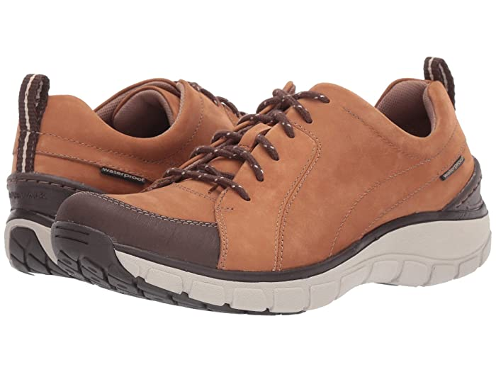 Clarks  Wave Go (Tan Nubuck/Leather Combi) Womens Lace up casual Shoes