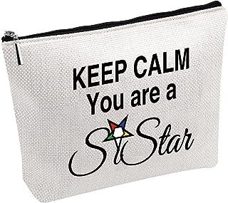 حقائب مستحضرات التجميل ستارز إيسترن ستارز حقيبة مكياج للسفر Keep Calm You're A Sistar OES حقيبة هدية لها