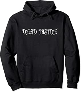 Dead Inside Depression Emo パステルゴス パーカー