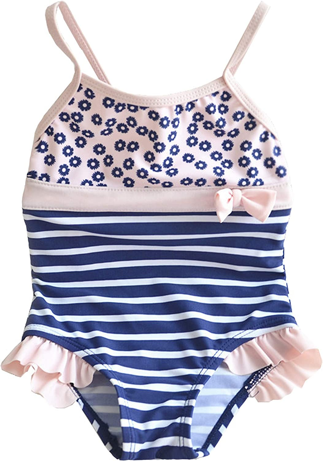 Hiheart Girls One-Piece Swimsuit Max 75% OFF UPF Bathing Suit 50+ Max 76% OFF Beach