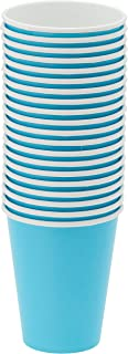 Amscan 68015-54 Caribbean Blue Paper Cups Party Pack 266ml-20 pcs