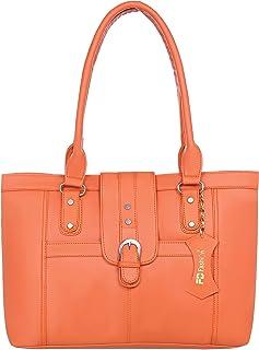 Orange Shoulder bag for women daily use handbags for girls college bag for girls casual handbags for women-183