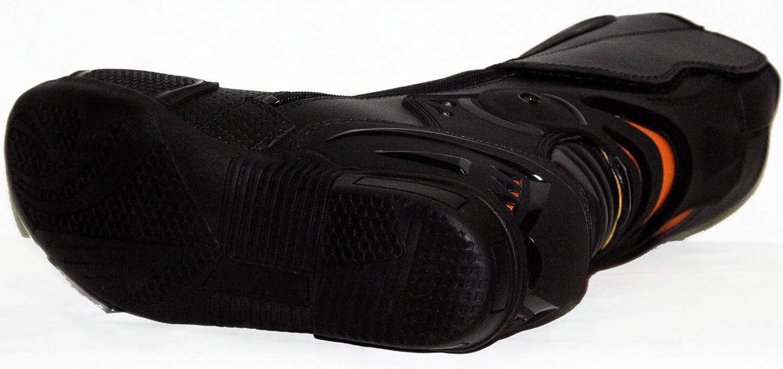 WLIDMRS Botas de cuero deportivas para motociclistas para hombre