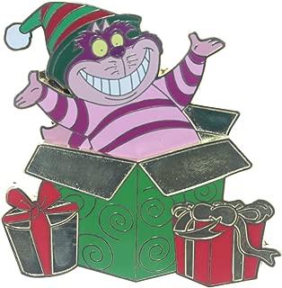 Christmas Gift Box - Cheshire Cat Pin