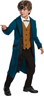 Rubie's Costume Boys Fantastic Beasts & Where to Find Them Deluxe Newt Scamander Costume, Large, Multicolor