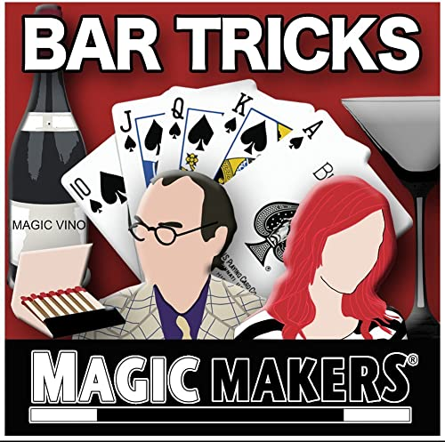 Venta en línea precio bajo descuento Bar Tricks & Bar Betchas by Magic Makers Makers Makers by Magic Makers  Mejor precio