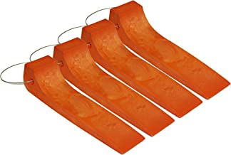 Mytee Products Tire Skates for Tow Truck Wrecker Rollback Carrier Safety Orange (Heavy Duty Plastic Skates (Orange))