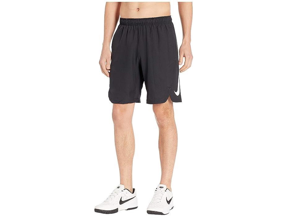 Nike Baseball Shorts (Black/Black/White) Men