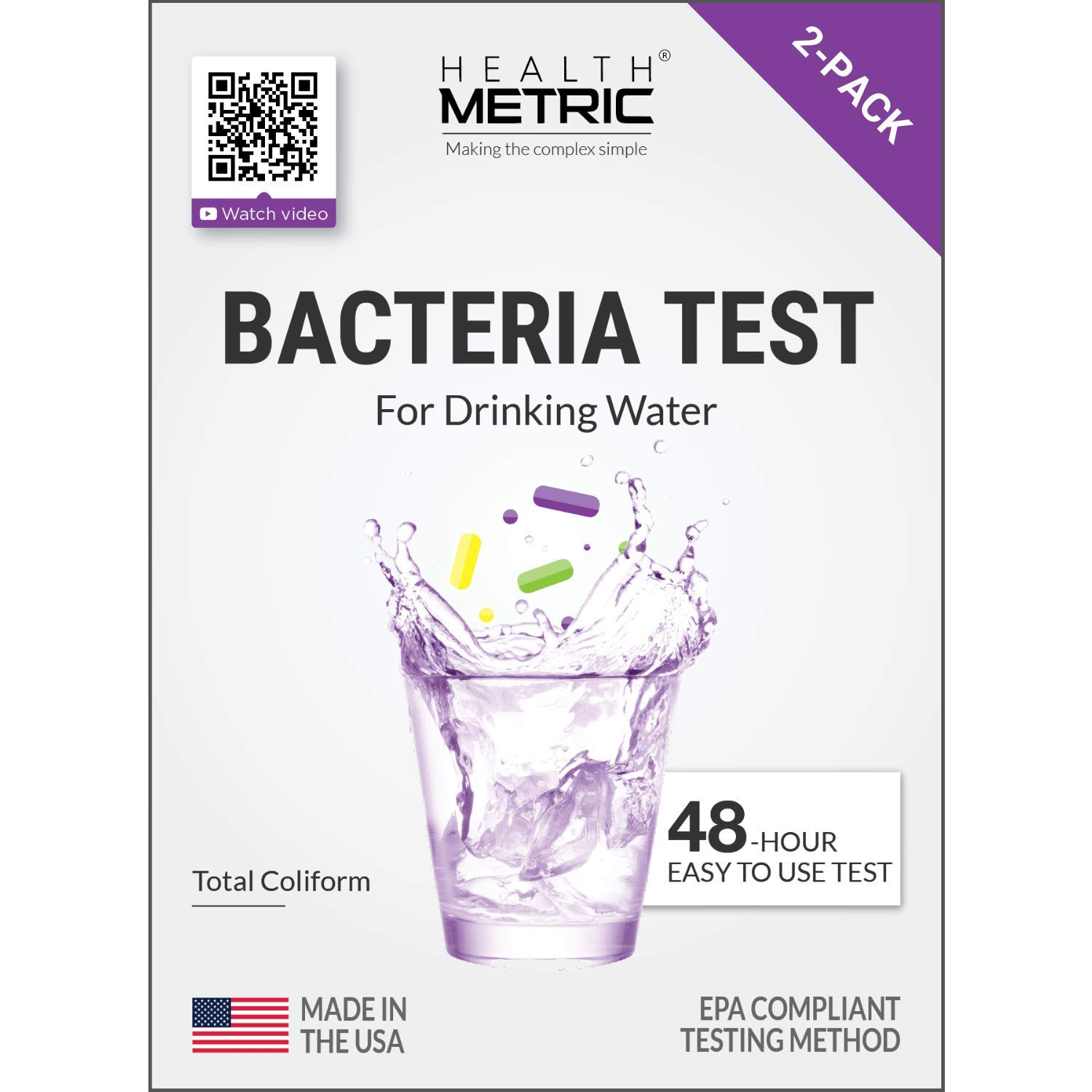 Coliform Bacteria Test Drinking Water