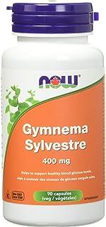 NOW Gymnema Sylvestre 400mg 90 Veg Capsules, 100 g