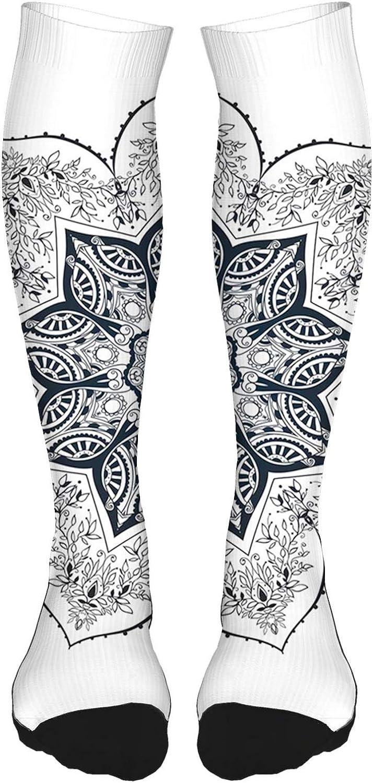 Compression Socks for Men  Women, Best For Running, Athletic, M