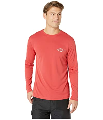 Quiksilver Waterman Gut Check Long Sleeve Rashguard (Cardinal) Men