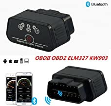 KW903 ODB2 II Car Diagnostic Scanner Code Reader ELM327 Bluetooth For iPhone