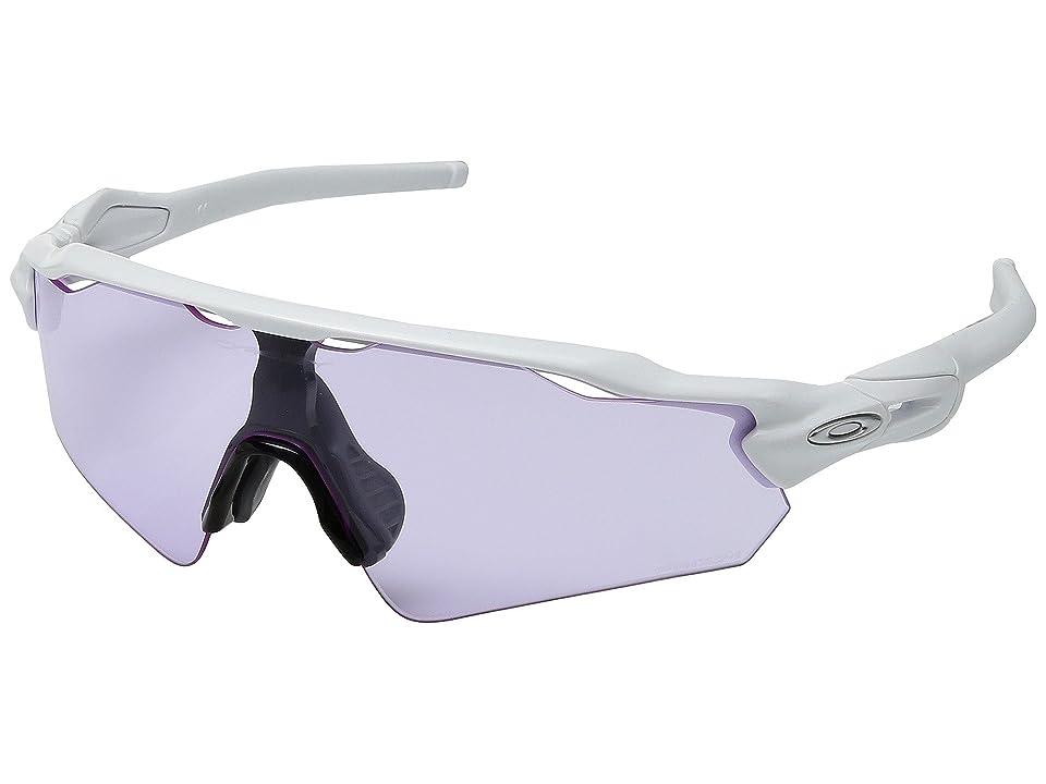 Oakley Radar EV Asian (Polished White w/ Prizm Low Light) Sport Sunglasses