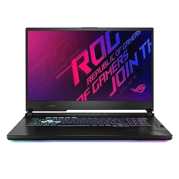 ASUS ROG Strix G17 i7-10750H/ GTX1660Ti-6GB/ 8G+8G/ 512G SSD+512G SSD (RAID 0)/ 17.3 FHD-144hz/ RGB Backlit-4 Zone/ WIFI6/ 66Wh/ WIN10/ Black Plastic ASUS G712LU-EV008TS