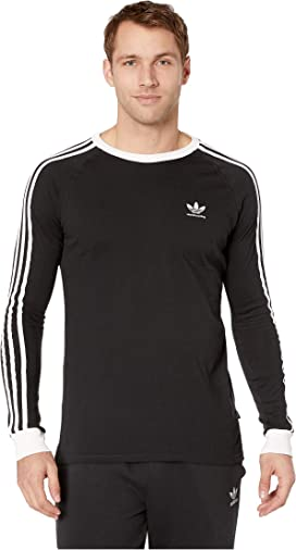 42619295b3 adidas Originals 3-Stripes Long Sleeve Tee at Zappos.com