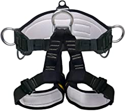 X XBEN Climbing Harness حرفه ای کوهنوردی صخره نورد ، صعود ایمنی بالا بردن ، مهار ایمنی بالا - کمربند ایمنی کار