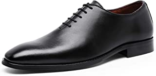 Men's Dress Shoes Leather Oxford for Men Formal Business Lace-up Full Grain Leather Shoes for Men
