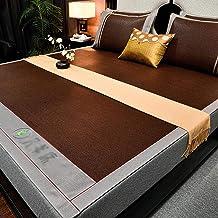 Three-Piece Summer Sleeping mat and Health mat, Guteng Summer mat, Foldable ice Silk mat, Single Double air-Conditioning m...