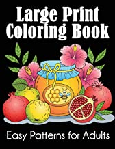 Download Large Print Coloring Book: Easy Patterns for Adults PDF