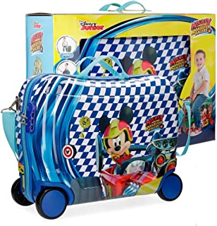 Envío GRATIS por Amazon. Disney Mickey Race Equipaje Infantil, 50 cm, 34 litros
